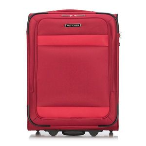 Sada malý cestovný kufor + taška na notebook z kolekcie Travel Line Compact. vyobraziť