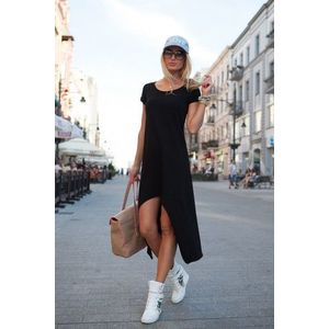 Letné čierne šaty vyobraziť
