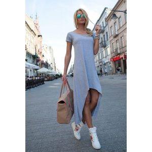 Letné sivé šaty vyobraziť