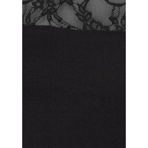 LASCANA Tričko čierna vyobraziť