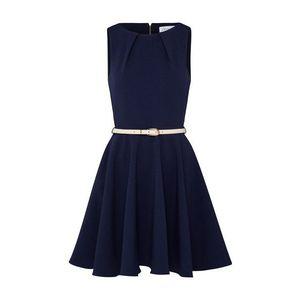 Closet London Kokteilové šaty námornícka modrá vyobraziť