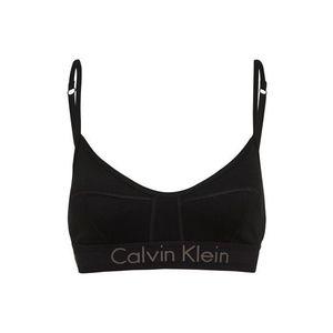 Calvin Klein Underwear Podprsenka 'UNLINED BRALETTE' čierna vyobraziť