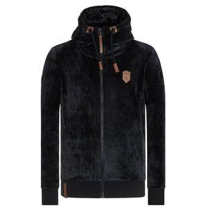 Naketano Tepláková bunda 'Birol Mack' čierna vyobraziť