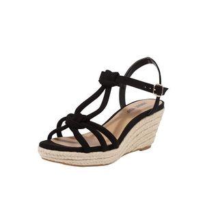 ABOUT YOU Sandále 'FRANCES' čierna vyobraziť