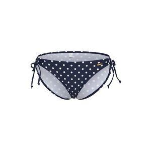 ABOUT YOU Bikinové nohavičky 'Natalia' námornícka modrá / šedobiela vyobraziť
