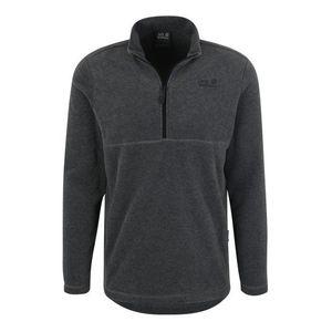 JACK WOLFSKIN Športový sveter 'GECKO' tmavosivá vyobraziť