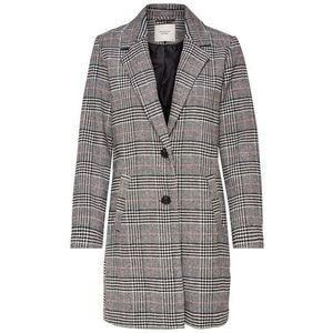 JACQUELINE De YONG Prechodný kabát 'Emma' koralová / čierna / biela vyobraziť