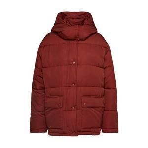 EDITED Zimná bunda 'Elaine' červené vyobraziť