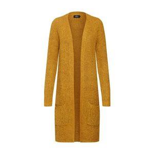 ONLY Pletený kabát 'BERNICE' zlatá žltá vyobraziť