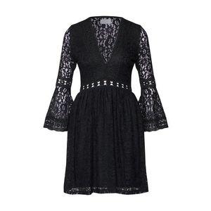Carolina Cavour Šaty čierna vyobraziť
