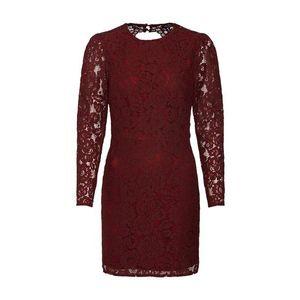 Fashion Union Šaty 'HARLOTTE' burgundská vyobraziť