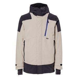 CHIEMSEE Športová bunda 'PARK CITY Ski Jacket' béžová / čierna vyobraziť