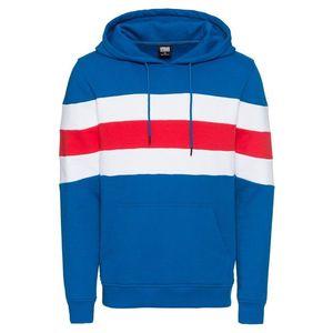 Urban Classics Mikina modré / červené / biela vyobraziť