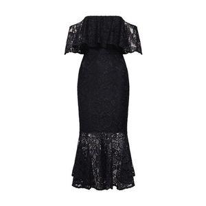 TFNC Kokteilové šaty 'VINNIE MIDI LACE DRESS' čierna vyobraziť