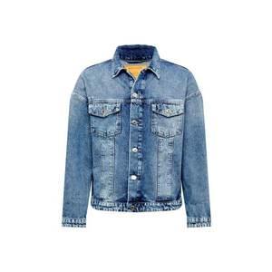 JACK & JONES Prechodná bunda 'Earl' modrá denim vyobraziť