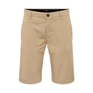 BOSS Chino nohavice béžová vyobraziť