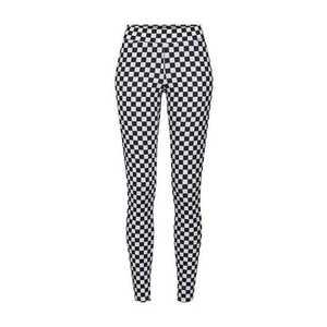 Urban Classics Legíny 'Check Pattern' čierna / biela vyobraziť