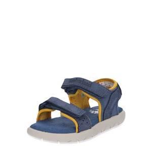 TIMBERLAND Otvorená obuv 'Nubble L/F 2 Strap Sandal' modré vyobraziť