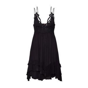 Free People Letné šaty 'Adella' čierna vyobraziť