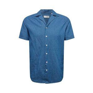 !Solid Košeľa modré vyobraziť