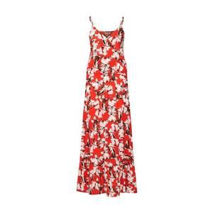 ICHI Letné šaty 'MARRAKECH DR3' červené / biela vyobraziť