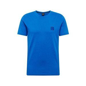 BOSS Tričko modré / kráľovská modrá vyobraziť