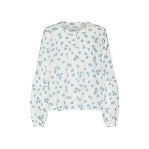 EDITED Blúzka 'Serena' modré / biela vyobraziť