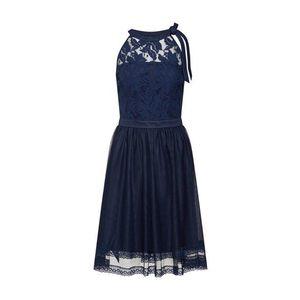 VILA Kokteilové šaty 'Zinna' námornícka modrá vyobraziť