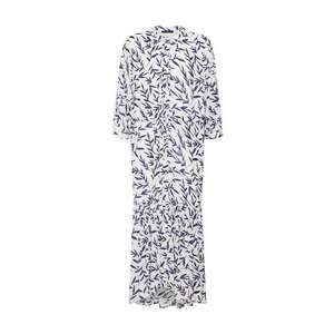 SELECTED FEMME Košeľové šaty 'BREE' modré / biela vyobraziť