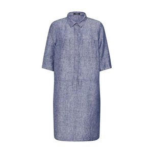 OPUS Košeľové šaty 'Willmar linen' modré vyobraziť