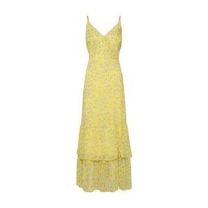 Banana Republic Letné šaty 'TIERED MAXI' žlté / biela vyobraziť