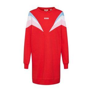 LEVI'S Šaty 'FLORENCE CREW DRESS' červené vyobraziť