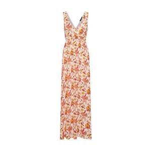 SISTERS POINT Letné šaty 'ILSE-DR1' oranžová / červené / biela vyobraziť