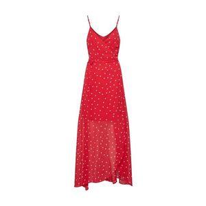 Even&odd Letné šaty červené / biela vyobraziť