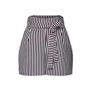 Boohoo Nohavice čierna / biela vyobraziť