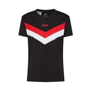 LEVI'S Tričko 'FLORENCE' červené / čierna / biela vyobraziť