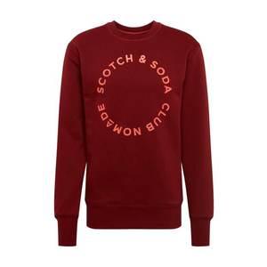 SCOTCH & SODA Mikina hrdzavo červená vyobraziť