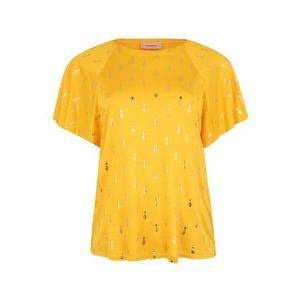 TRIANGLE Tričko žlté vyobraziť