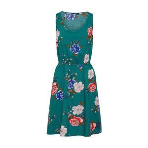 ONLY Letné šaty 'NOVA SARA' zelená / zmiešané farby vyobraziť