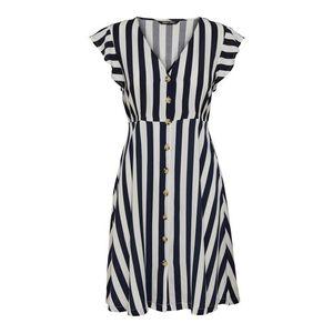Košeľové šaty ONLY Tmavomodrá ONLY vyobraziť