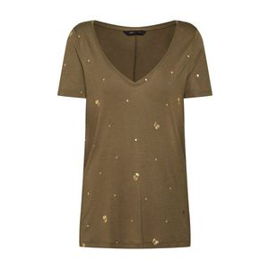 ONLY Tričko 'IRIS' zlatá / kaki vyobraziť