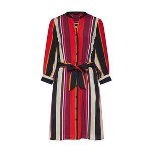 MORE & MORE Košeľové šaty béžová / zmiešané farby / ružová / červené / čierna vyobraziť