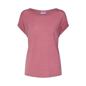 VERO MODA Tričko 'AVA PLAIN' ružová vyobraziť