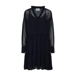 JUST FEMALE Košeľové šaty 'Marla' čierna vyobraziť