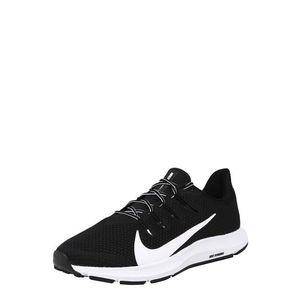 NIKE Bežecká obuv 'QUEST 2' čierna / biela vyobraziť