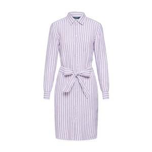 Lauren Ralph Lauren Košeľové šaty 'JAMEIKA' orgovánová / biela vyobraziť
