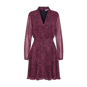Freebird Letné šaty burgundská / čierna vyobraziť