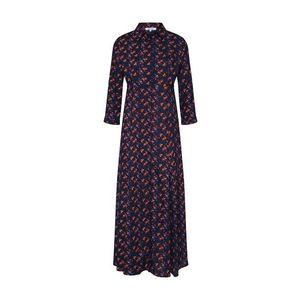 ABOUT YOU Košeľové šaty 'Arlene' tmavomodrá / zmiešané farby vyobraziť