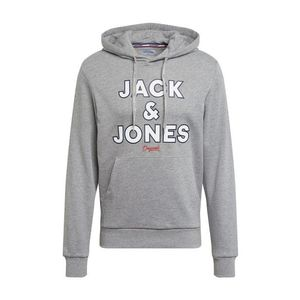 JACK & JONES Mikina sivá melírovaná vyobraziť