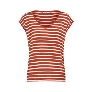 PIECES Tričko 'BILLO' hrdzavo červená vyobraziť